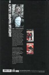 Verso de American Vampire Legacy -2- Le réveil du monstre