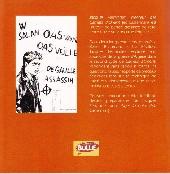 Verso de Alger la Noire -HS- La guerre d'Algérie vue par Jacques Ferrandez