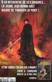 Verso de Star Wars - Comics magazine -3A- Dossier Tom Palmer