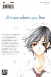 Verso de A town where you live -10- Tome 10