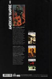 Verso de American Vampire -3- Le fléau du Pacifique