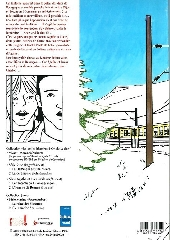 Verso de Agathe et Lucas -1- Le fantôme du Dijon-Besançon