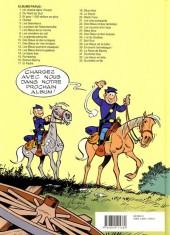 Verso de Les tuniques Bleues -27a- Bull run