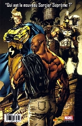 Verso de New Avengers (The) (Panini) -6- À la recherche du Sorcier Suprême