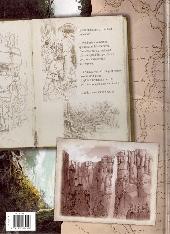 Verso de Le monde perdu -1- Tome 1