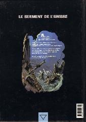 Verso de Le serment de l'Ambre -3- Les barbares de Deïre
