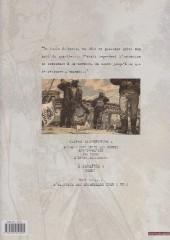 Verso de Blacksad -2c- Arctic-Nation