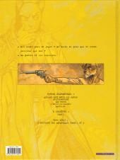 Verso de Blacksad -5- Amarillo