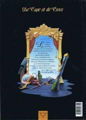 Verso de De Cape et de Crocs -4- Le Mystère de l'île étrange