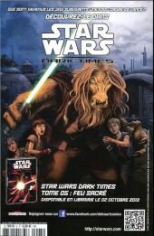 Verso de Star Wars - Comics magazine -5A- Boba Fett & Dark Vador !