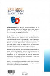 Verso de (DOC) Encyclopédies diverses -32- Dictionnaire encyclopédique des héros et auteurs de BD