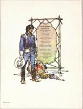 Verso de Blueberry -8e- L'homme au poing d'acier