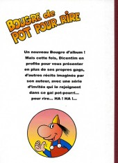 Verso de Dicentim le petit franc -8- Bougre de pot pour.. rire