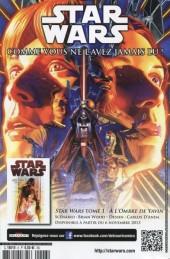 Verso de Star Wars - Comics magazine -6A- Dark Vador : la Prison fantôme !