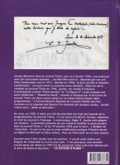 Verso de (AUT) Jacobs -26- Les Aventures du prince Icare - Le Retour d'Icare