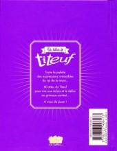 Verso de Titeuf -HS7- Les têtes à Titeuf