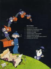 Verso de Léonard -8- Coup de génie