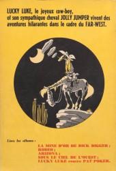 Verso de Lucky Luke -6- Hors-la-loi