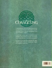 Verso de La légende du Changeling -INT- L'intégrale