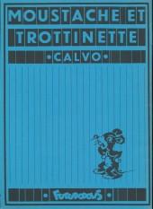 Verso de Moustache et Trottinette (Futuropolis) -2- Barbe Bleue