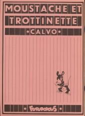 Verso de Moustache et Trottinette (Futuropolis) -4- Trombone