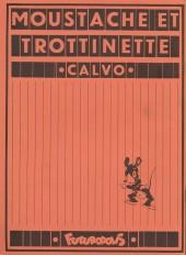 Verso de Moustache et Trottinette (Futuropolis) -5- Mare-Moussue