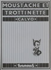 Verso de Moustache et Trottinette (Futuropolis) -6- Au Moyen Age