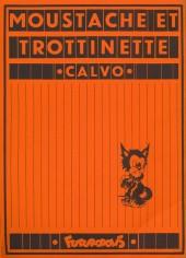 Verso de Moustache et Trottinette (Futuropolis) -7- Le Secret