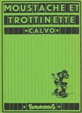 Verso de Moustache et Trottinette (Futuropolis) -10- Milady