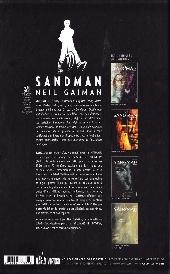 Verso de Sandman (Urban Comics) -3- Volume III