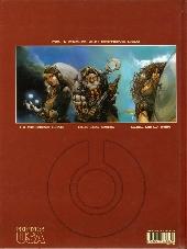 Verso de Les gardiens du Maser -4- La tour de fer