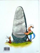 Verso de Astérix -25b08- Le grand Fossé
