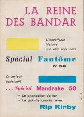 Verso de Mandrake (1e Série - Remparts) (Mondes Mystérieux - 1) -134- La fin de l'homme taupe