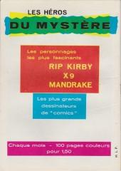 Verso de Mandrake (1e Série - Remparts) (Mondes Mystérieux - 1) -124- Week-end à surprise