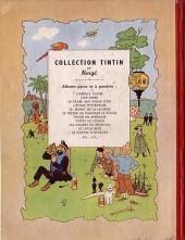 Verso de Tintin (Historique) -11B01a- Le secret de la Licorne