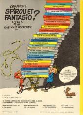 Verso de Spirou et Fantasio -5e81- Les voleurs du marsupilami