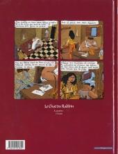 Verso de Le chat du Rabbin -2- Le Malka des Lions