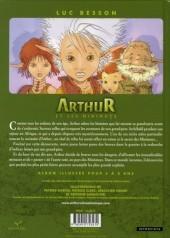Verso de Arthur et les minimoys
