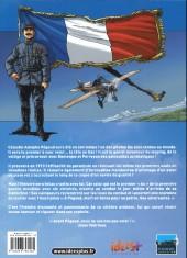 Verso de Histoires de pilotes -3- Célestin Adolphe Pégoud