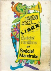 Verso de Mandrake (1e Série - Remparts) (Mondes Mystérieux - 1) -261- Le continent mu