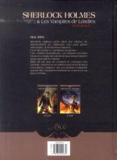 Verso de Sherlock Holmes & Les Vampires de Londres -INT- Intégrale