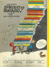 Verso de Spirou et Fantasio -8d77- La mauvaise tête