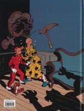 Verso de Spirou et Fantasio (Une aventure de / Le Spirou de...) -7- La Femme-léopard