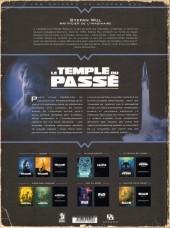 Verso de Le temple du passé -1- Entrailles