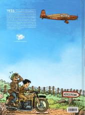 Verso de L'aviatrice -1- Nora