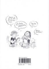 Verso de Les carnets secrets de Guillaume Bianco -1- Les Seins