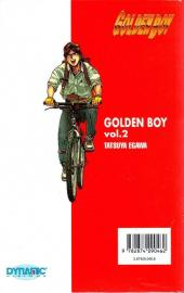 Verso de Golden Boy -2- Vol 2
