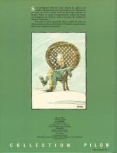 Verso de Le bal de la sueur -1- Sergeï Wladi