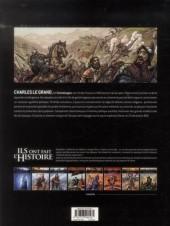 Verso de Ils ont fait l'Histoire -3- Charlemagne