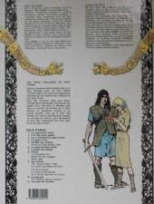 Verso de Thorgal -3a86- Les trois vieillards du pays d'aran
